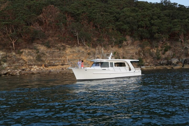 380 At rest on the Pittwater