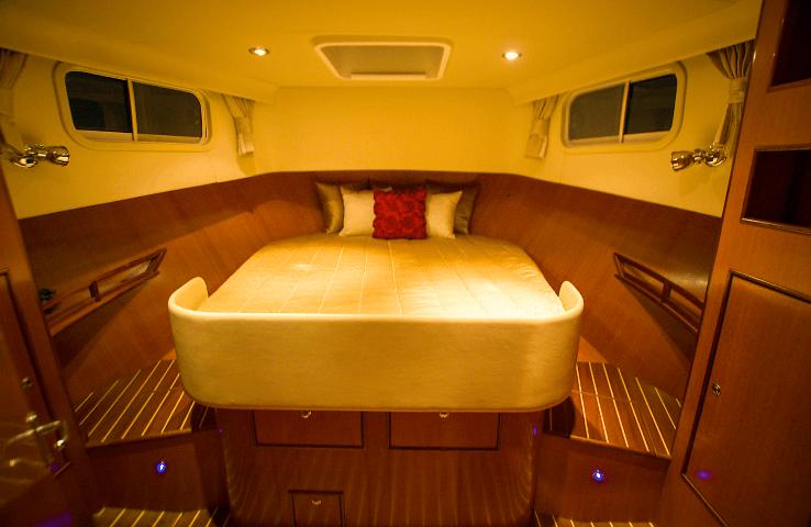 Integrity 380 Sedan Master Cabin